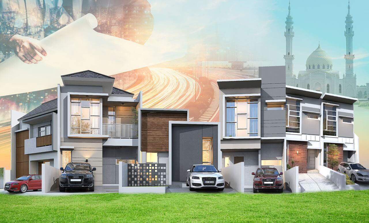 perumahan syariah jabodetabek - rumah syariah jabodetabek - banner ads landscape - dav property syariah